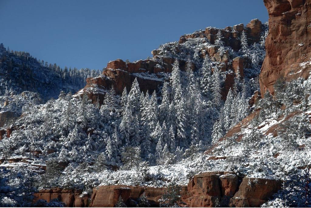 sedona snow